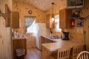 Cabin 0 Fox - kitchen