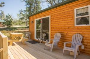 Cabin 0 Fox - deck