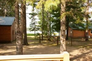 Cabin 1 Hummingbird - lake view