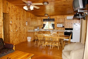 Cabin 10 Moose - kitchen/dining
