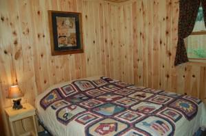 Cabin 2 Walleye - private queen