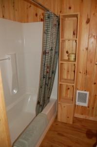 Cabin 3 Bear - full bath