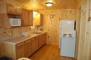 Cabin 3 Bear - kitchen