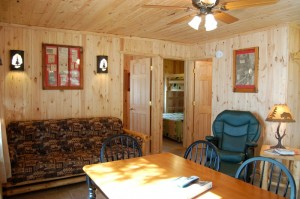 Cabin 4 Ladyslipper - dining/living