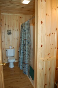 Cabin 5 Heron -  full bath