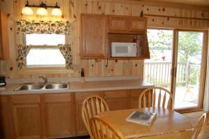 Cabin 5 Heron -  kitchen
