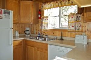 Cabin 6 Eagle - kitchen