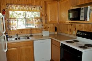 Cabin 6 Eagle - kitchen/dishwasher