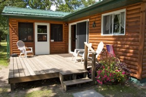 Cabin 6 Eagle - entry
