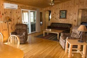 Cabin 6 Eagle - living area