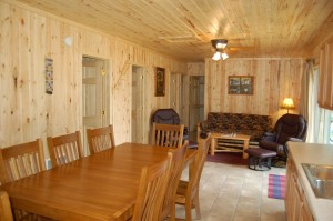 Cabin 7 Loon - dining/living