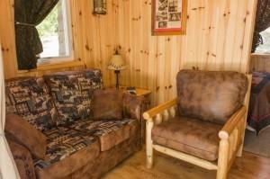 Cabin 0 Fox - living