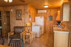 Cabin 4 Ladyslipper - kitchen