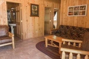 Cabin 7 Loon - living